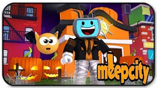 Time To Decorate For Halloween - Roblox Meepcity (Roblox Roleplay)
