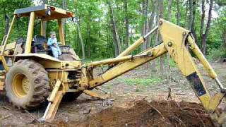 Bronson Troy Backhoe Operator for Hire (he