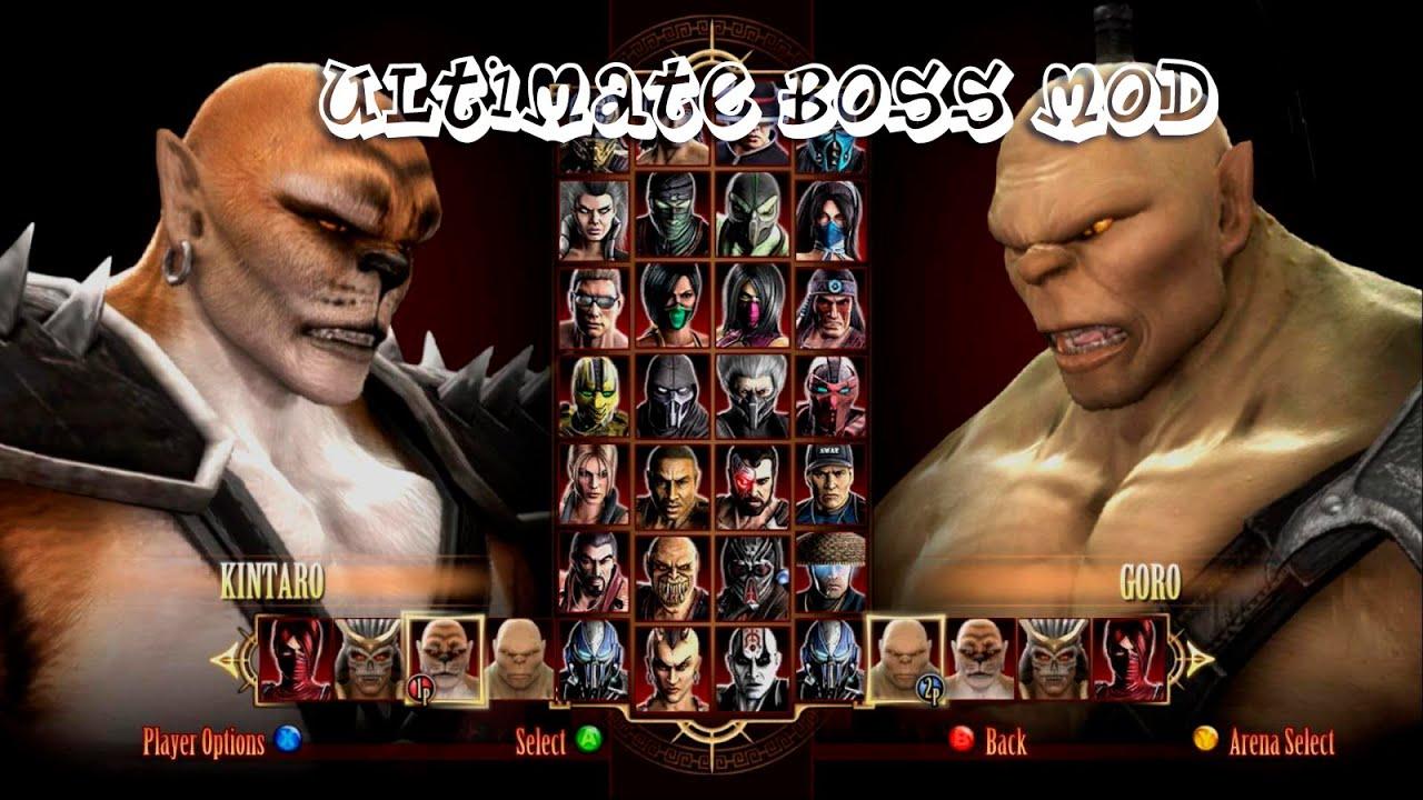 Mortal Kombat Komplete Edition Кратос Мод