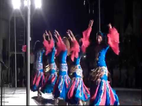 Egyptian national Folklore dance troupe