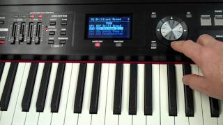 RD-700NX Selecting, Layering and Saving Sounds