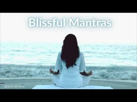 Mantra Music for yoga relaxation,mindfulness, meditation & inner reflection by Jane Winther