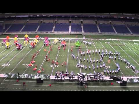Eve 2012 - Texas State Marching Contest Finals Performance
