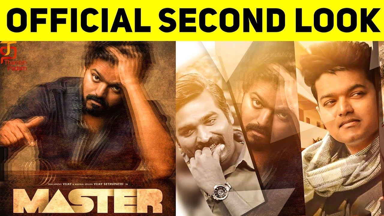 Master Tamil Movie Second Look Update ...
