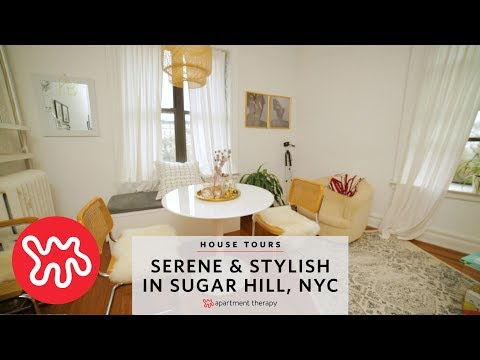 House Tours: Serene & Stylish in Sugar Hill NYC | Apartment Therapy