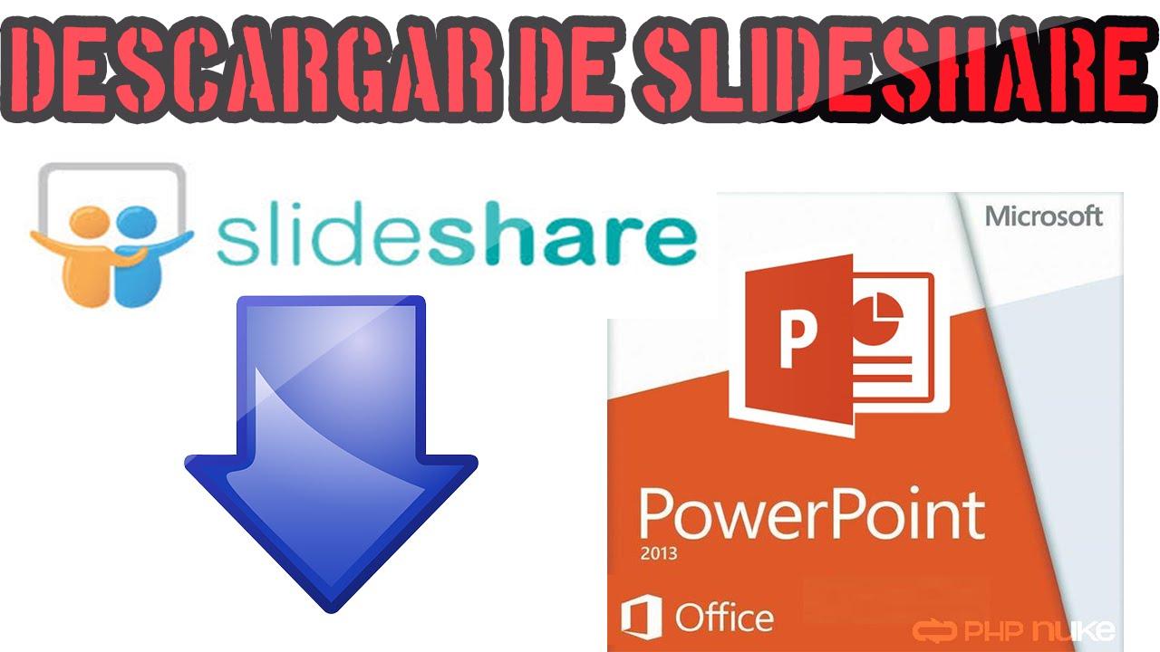 descargar presentaciones de slideshare en formato compatible con