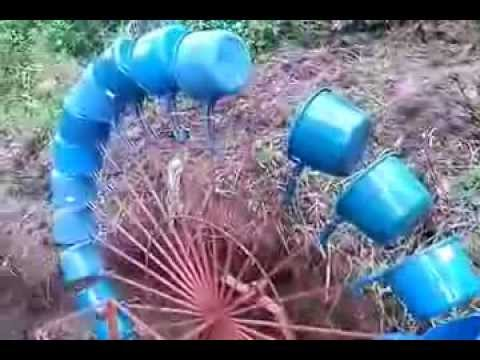 Part 1 3 Water Wheel 150 Watts Low Water Volume Hobo