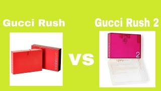 Gucci Rush vs Gucci Rush 2