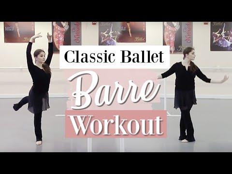 Classic Ballet Barre Workout | Kathryn Morgan