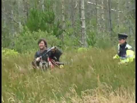 High speed Garda bike chase in Co. Mayo, Ireland