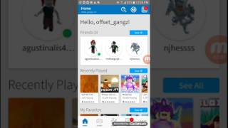 How to put a t-shirt on your avatar on Roblox (mobile)