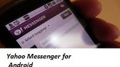 How To Download And Install Yahoo Messenger for Android