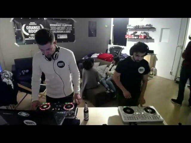 Orange Room Nijmegen w/ Django Amon (Night Shift crew) Live during Nijmegen Hip Hop Series Part 1