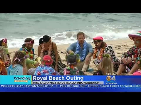 Trending: Royals Hit The Beach In Australia