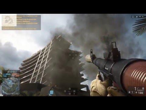 Самые эпичные разрушения в Battlefield 4