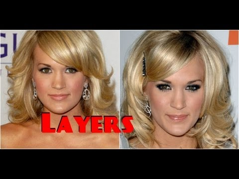 How To Cut Your Hair In Layers Do A Medium Long Layered Hair Cut