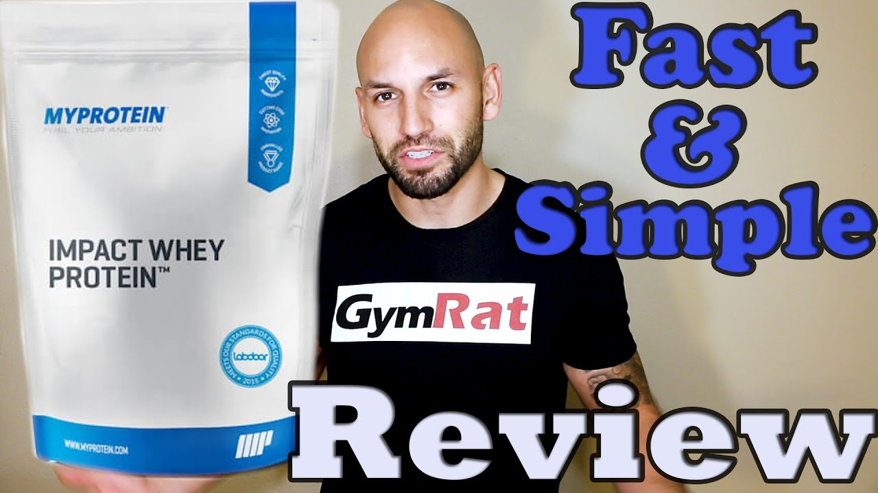 Impact Whey Protein Supplement Review