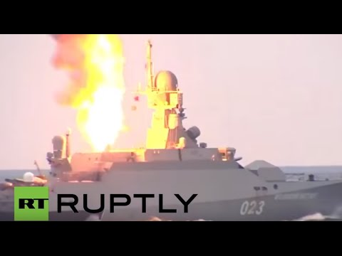 Russia: Caspian Flotilla flaunts its missile strike power