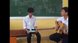Cover Tạm Biệt Nhé ( Thịnh Lee vs Hải Stbb-tdl singer, Guitar's Ngọc Phụng)