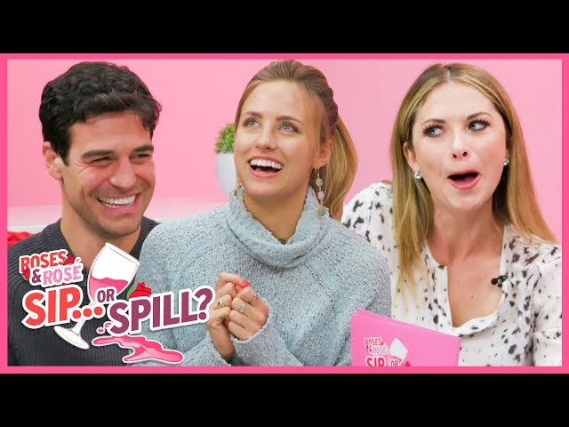 Roses & Rose\: Joe Amabile and Kendall Long SPILL Bachelor Secrets | Sip or Spill