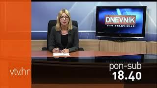 VTV Dnevnik najava 12. listopada 2017.