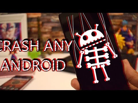 This Text Will CRASH ANY ANDROID APP!!!
