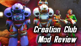 Fallout 4 Captain Cosmos Creation Club Mod Review!