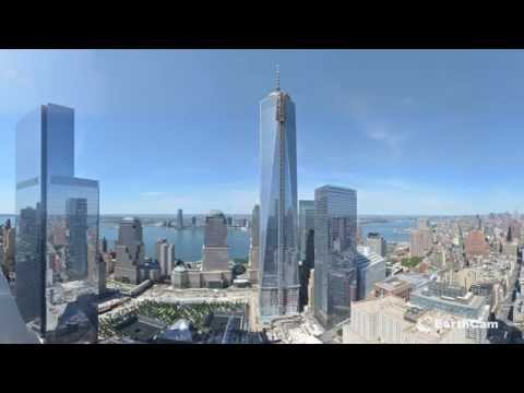 Time-Lapse Tour: The Building of One World Trade Center