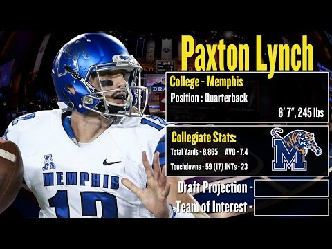 2016 NFL Draft Profile: Paxton Lynch - Strengths and Weaknesses + Projection!
