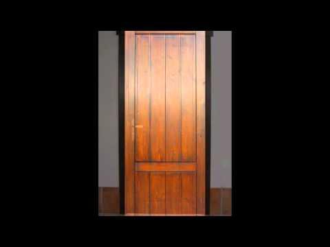 Puertas rusticas de paso interior de madera las riberas - Puertas rusticas interior ...