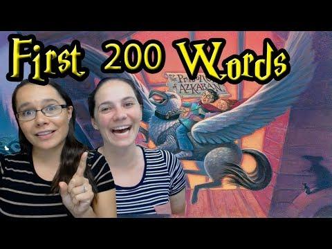 The Pottermasters - Prisoner of Azkaban First 200 Words