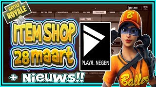 FORTNITE NEWS | ITEM SHOP March 28th | EXPLOSIVE BOW, Lava Legends Pack | Dutch