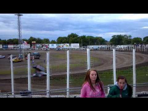 NOSA Sprint heat race 2 River Cities Speedway 6-1-12