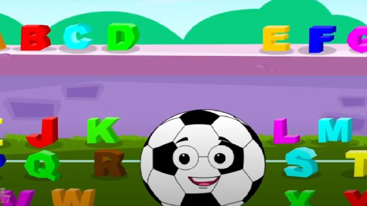 ABC Soccer Song | Nursery Rhymes for Kids | Learning Videos for Children | Kids Cartoons