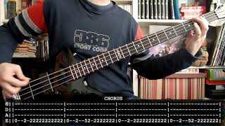 JUDAS PRIEST - Grinder (bass cover w/ Tabs) [full HD]