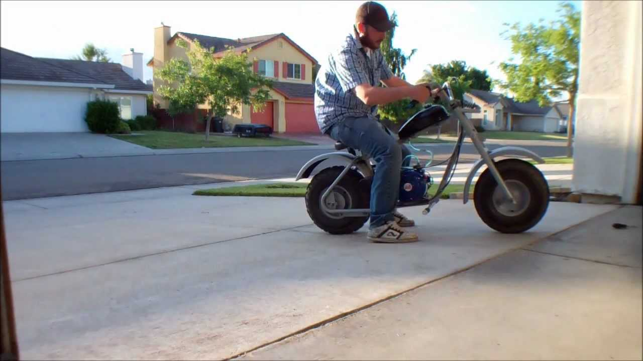 Hawg Ty Mini Bike With Modified Gx200 Youtube