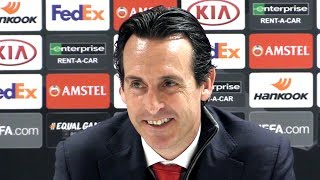 Arsenal 3-0 BATE (Agg 3-1) - Unai Emery Full Post Match Press Conference - Europa League