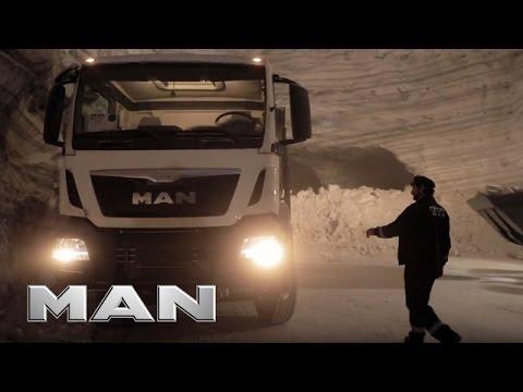 MAN #TRUCKLIFE - Salt Mine Trucks In Romania