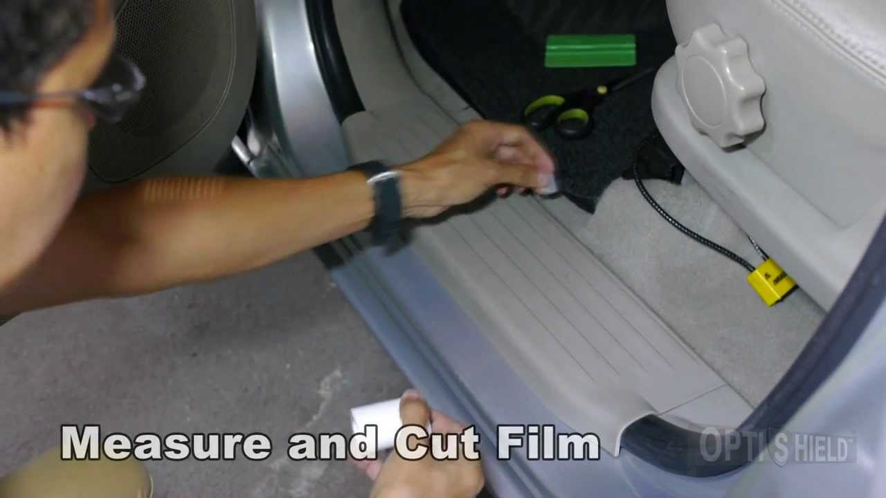 Optishield Protection Film How To Install On Car S Step