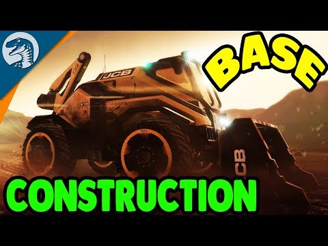 SPACE FORTRESS BUILDING & STRANDED SURVIVAL   JCB Pioneer: Mars Gameplay
