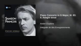 Concerto pour piano et orchestre en sol majeur : II. Adagio assai
