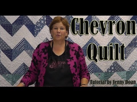 Missouri Star Quilt Co. Chevron Pattern