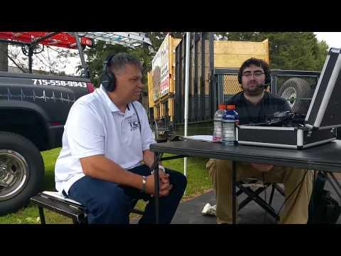 1st radio interview in Hayward