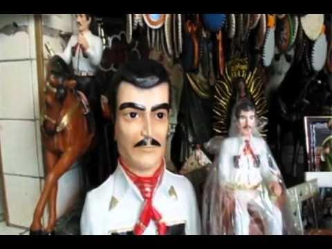 Jesus Malverde, patron saint of Mexican drug dealers