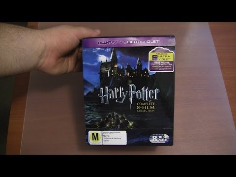 Harry Potter Complete 8 Film Blu-ray + UltraViolet