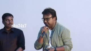 Geminiganesanum Surulirajanum Audio Launch | D Imman | My Wife is Angry with Me | nba 24x7