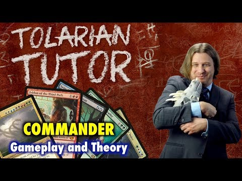 Tolarian Tutor: Commander - Learning Better Gameplay and Theory for Magic: The Gathering
