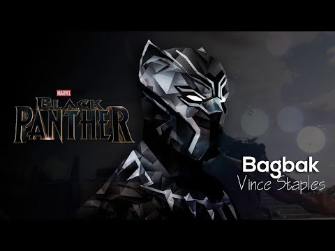 Black Panther ( Vince Staples - Bag Bak) Video