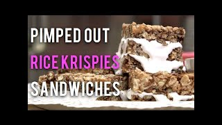 How To Make Rice Krispies Marshmallow Fluff Sandwiches And Salty Sweet Loaf