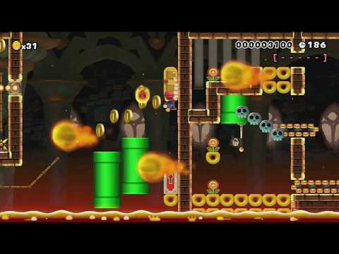 Endless nightmare by TheKikolol - Super Mario Maker - No Commentary